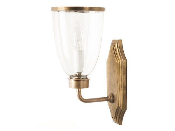 Hudson Wall Light / Aged Brass
