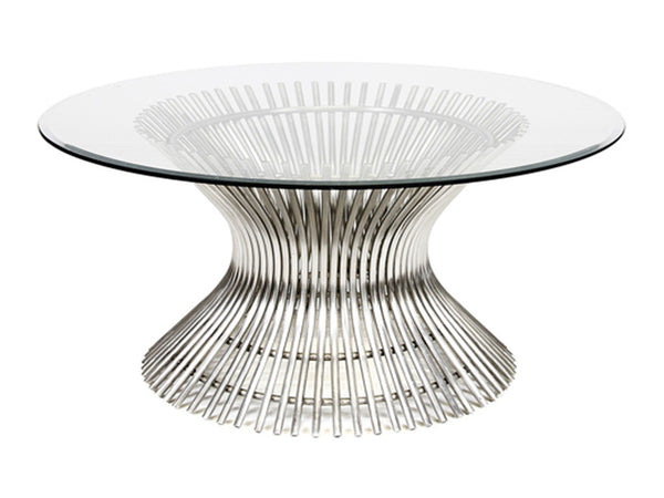 POWELL COFFEE TABLE / SILVER