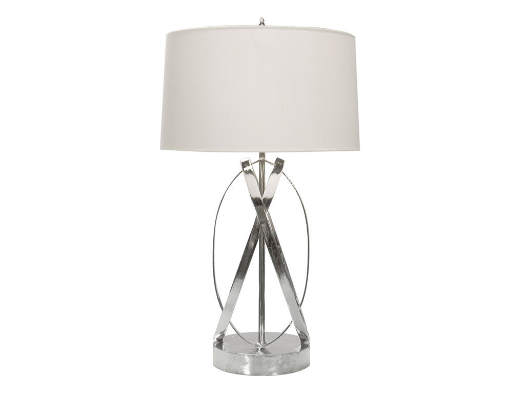 Cleo Table Lamp / Nickel