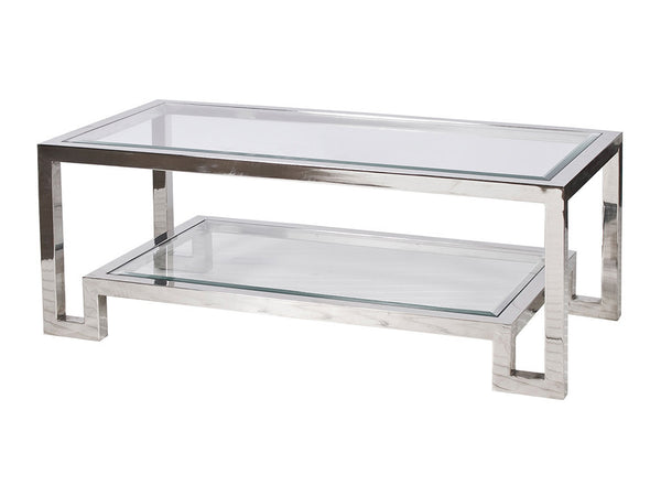 Winston Coffee Table / Silver