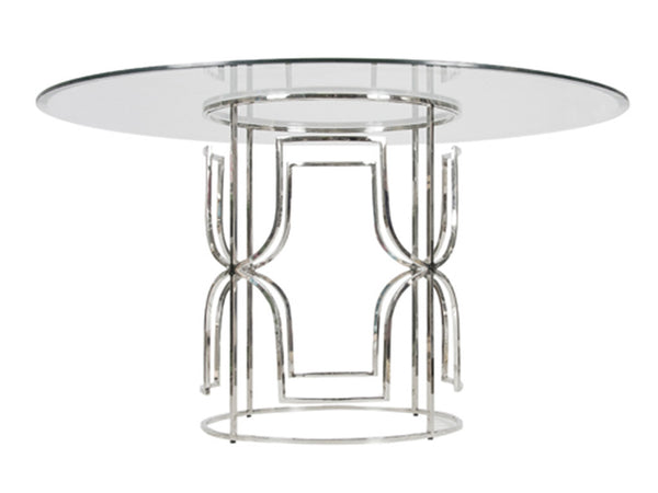 Jennifer Dining Table / Silver