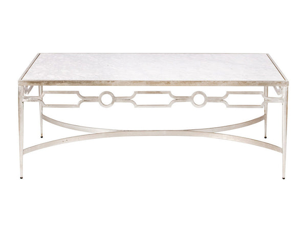 Grace Coffee Table / Silver