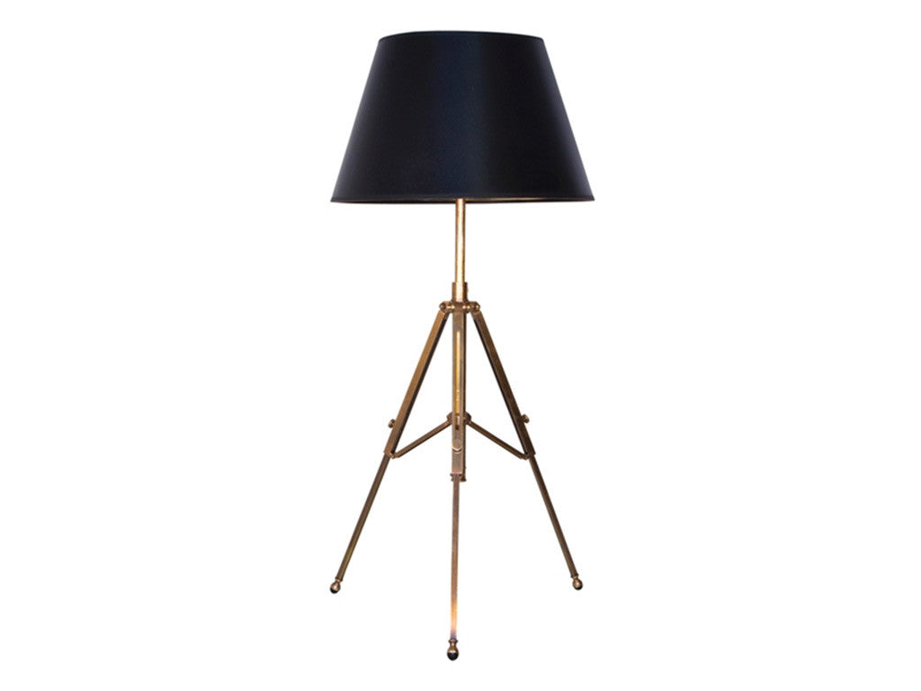 Nicholas Tripod Lamp / Antique Brass