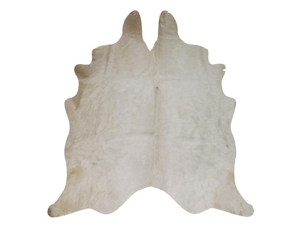 Natural Cowhide / White