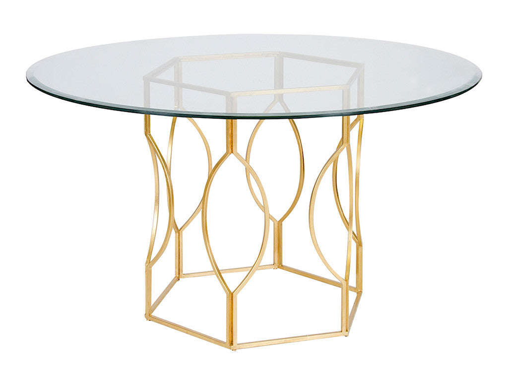 Abigail Table / Gold