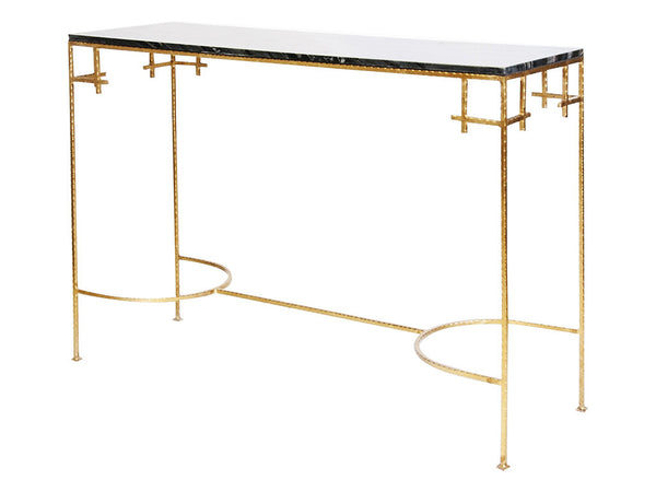 Marcy Console / Gold & Black