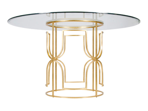 Jennifer Dining Table / Gold