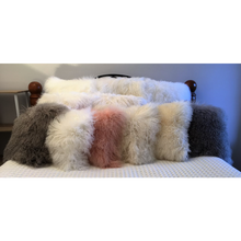 Load image into Gallery viewer, Mongolian Lambswool Cushion