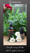 Load image into Gallery viewer, Natural Organic Skincare Facial Serum