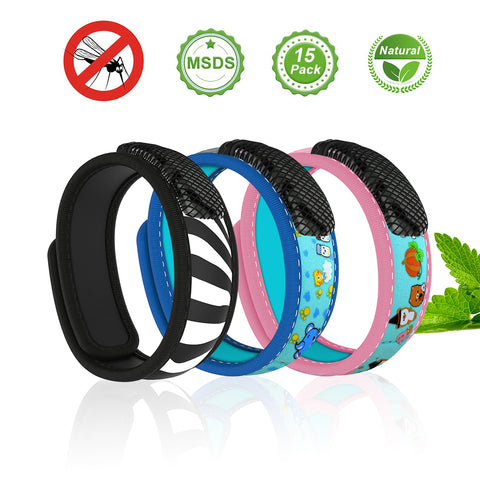 Mosquito Repellent Bracelets - Amazing for Summer