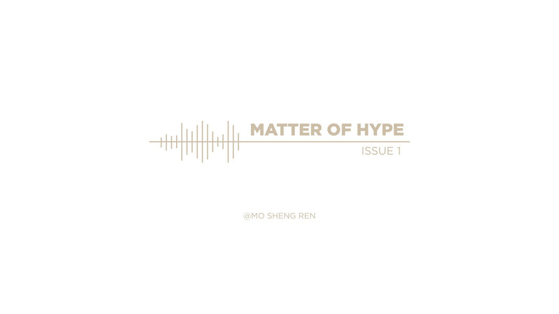 Matter Of  HYPE - Issue 001