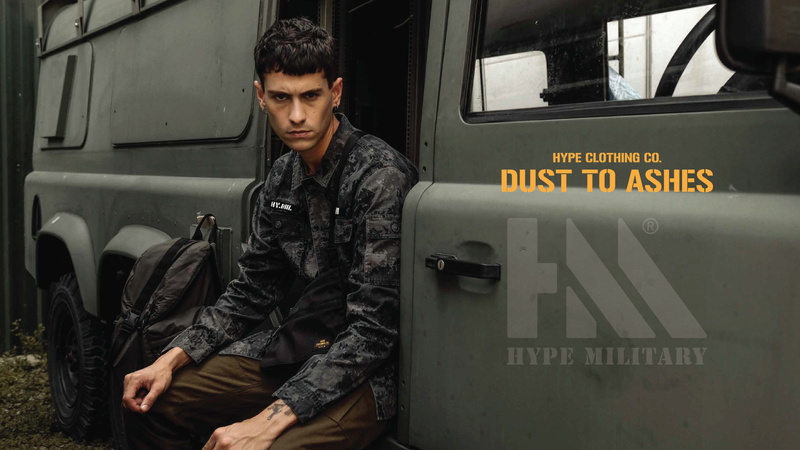 HYPE Winter18 Military Collection-