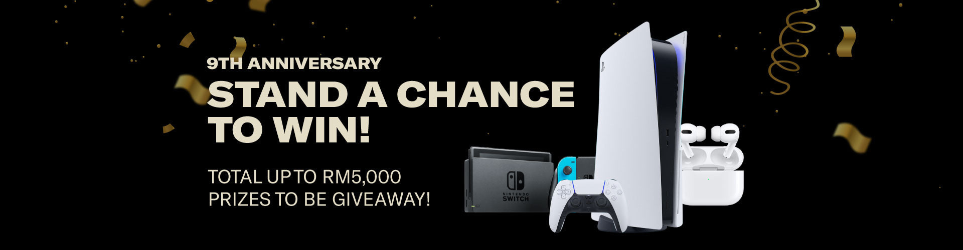 9th Anniversary Giveaway