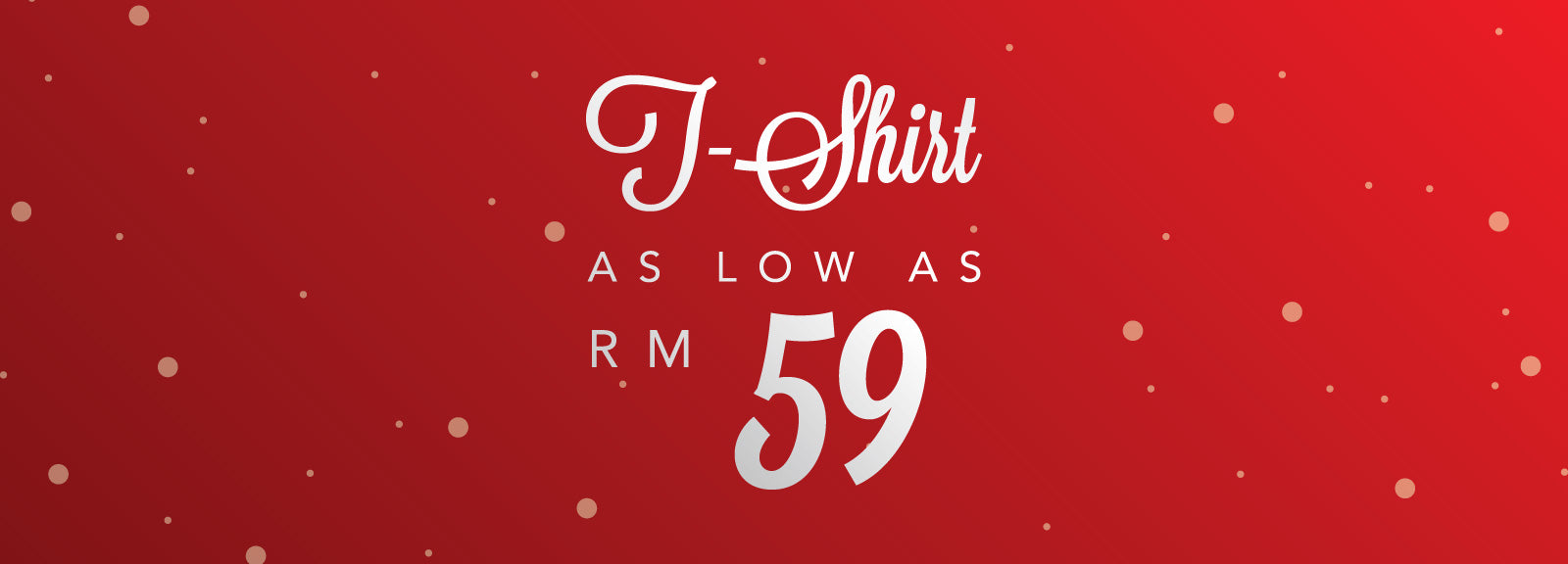All T-Shirt Under RM 59