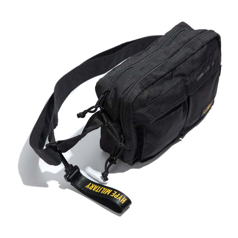Capsule Military Command Sling Bag | Black