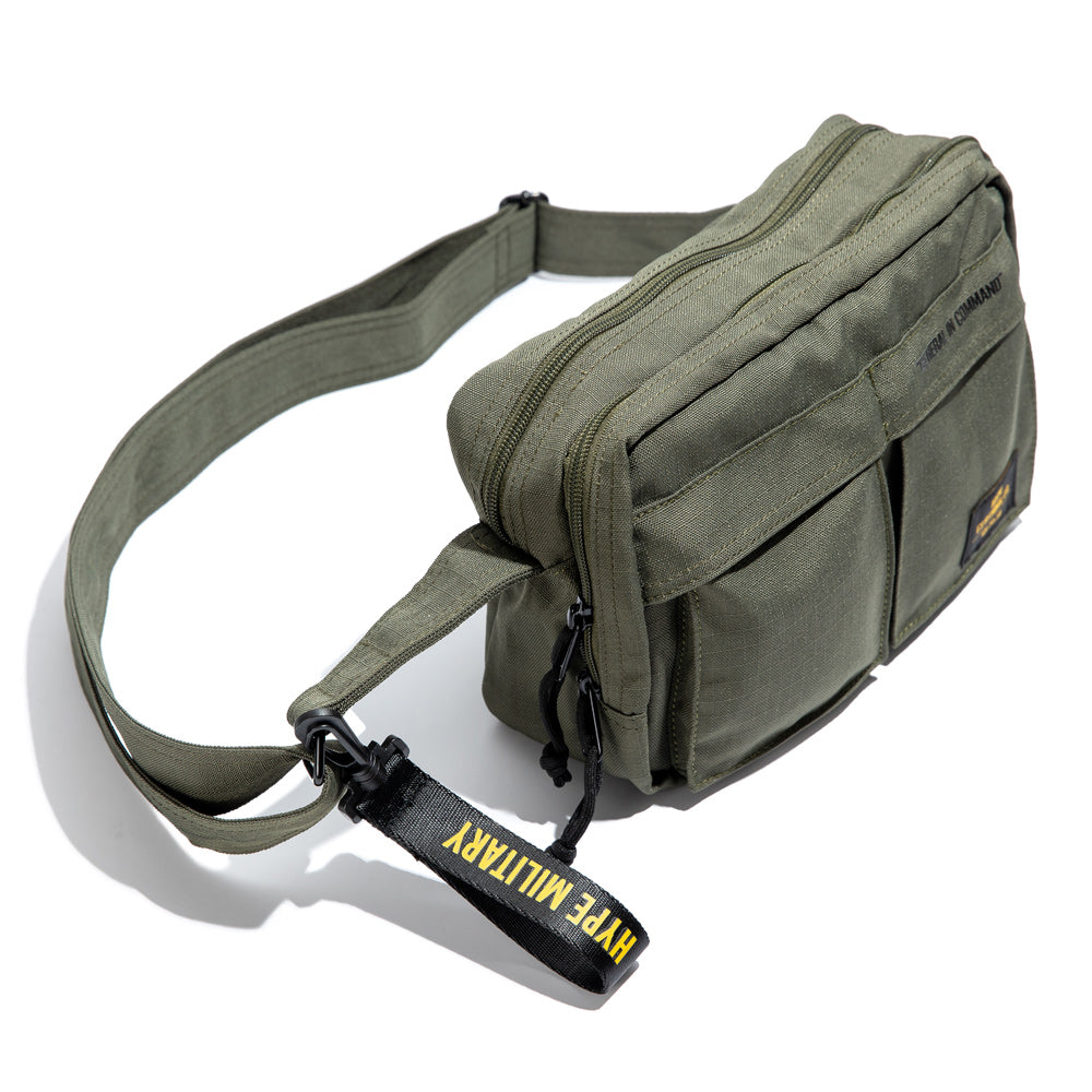 Capsule Military Command Sling Bag | Olive