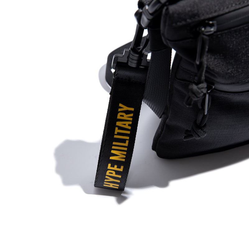Capsule Military Command Sacoche Bag | Black
