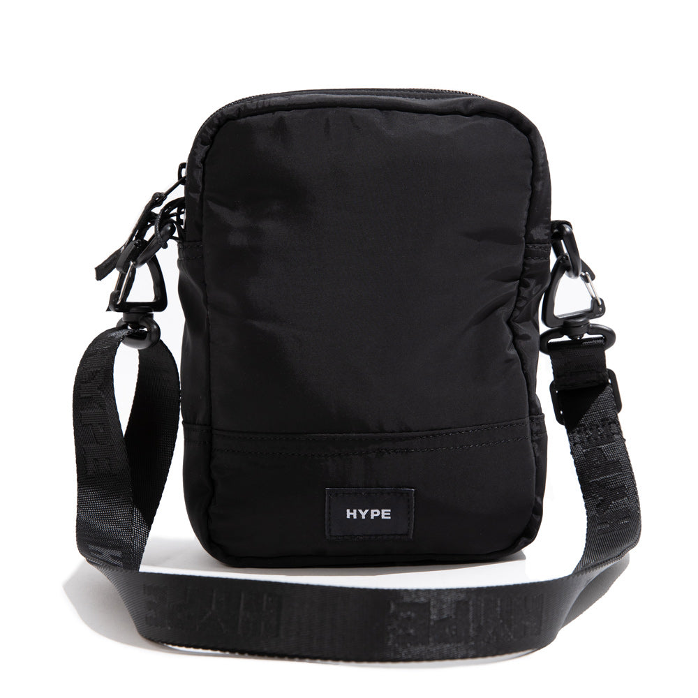 Seasonal Flint Duo Sides Sling Bag | Black