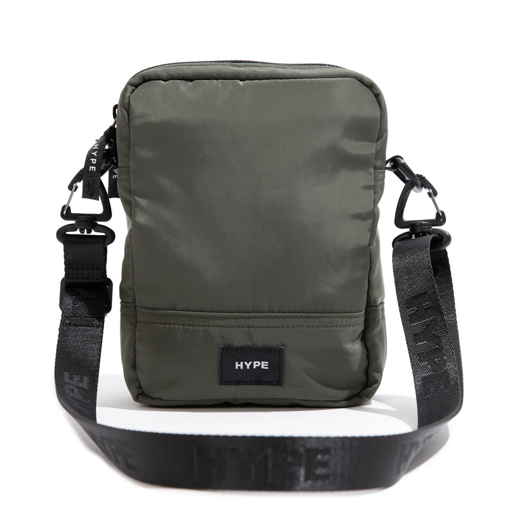Seasonal Flint Duo Sides Sling Bag | Olive