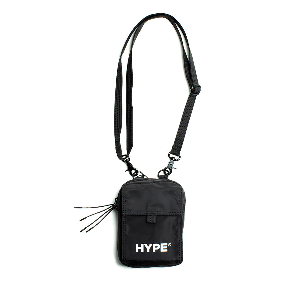 Capsule Technical Cross Bag  | Black