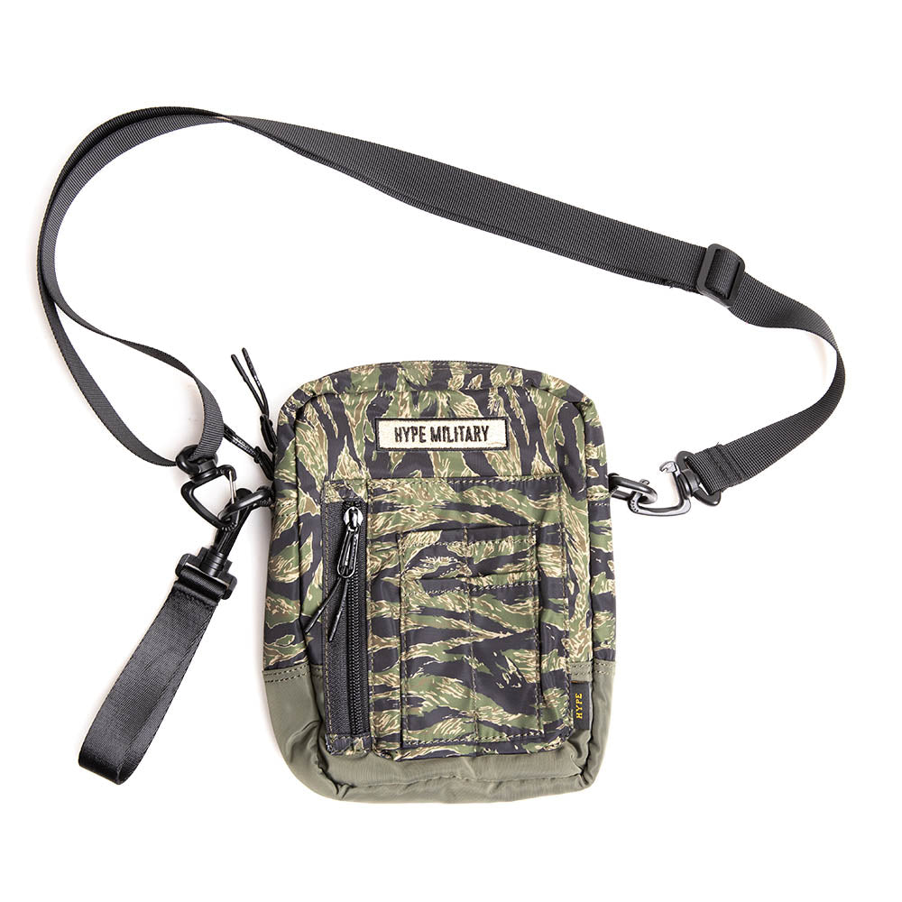 Capsule Military Duo Sides Cross Bag  | Camo