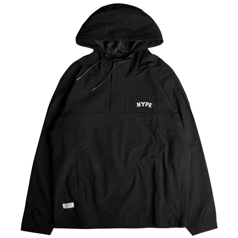Signature Chief Windbreaker Pullover | Black