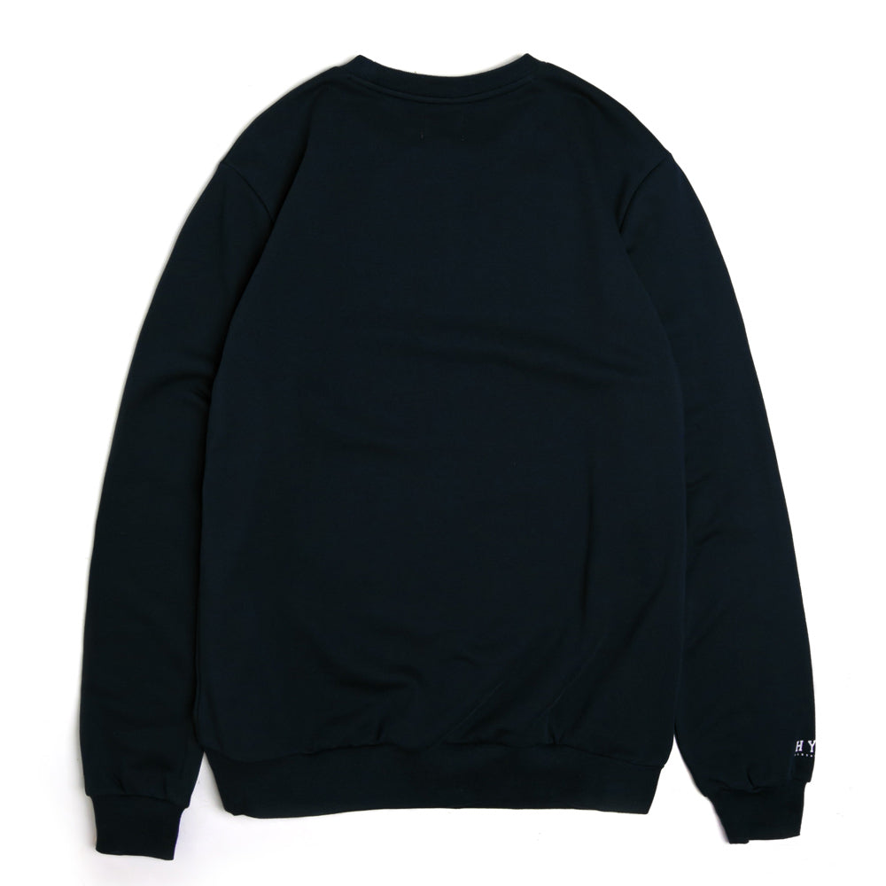 Basic Crewneck Sweater | Navy