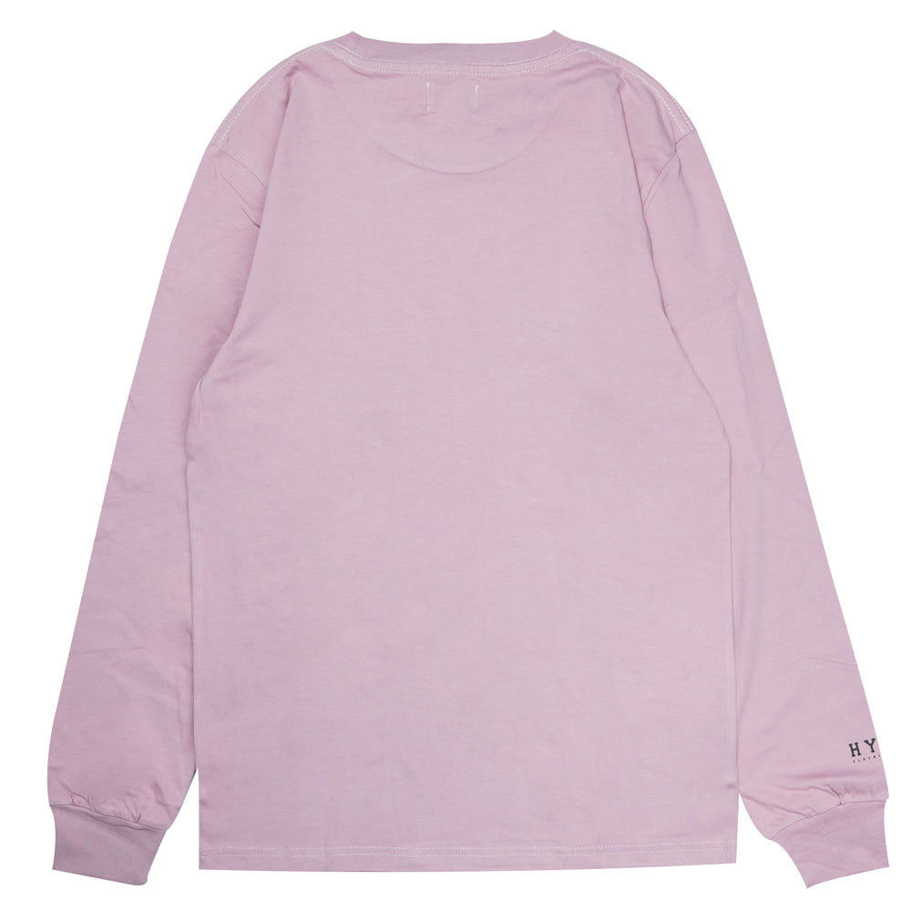 Basic Long Sleeve Tee | Dusty Pink