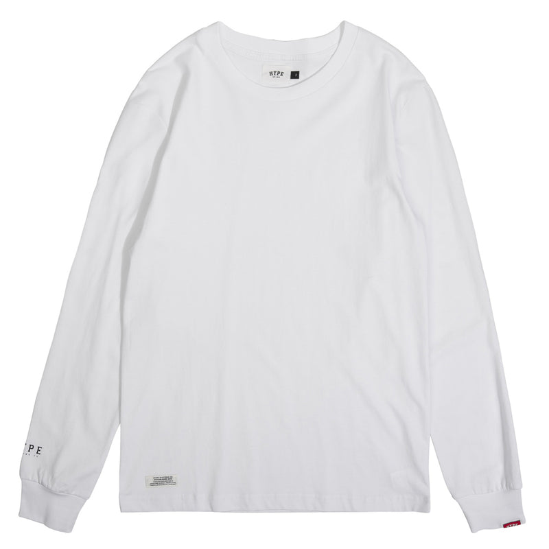 Basic Long Sleeve Tee | White