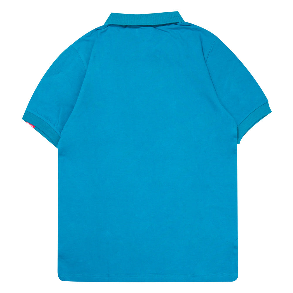 Basic Plain Short Sleeve Polo | Dark Teal