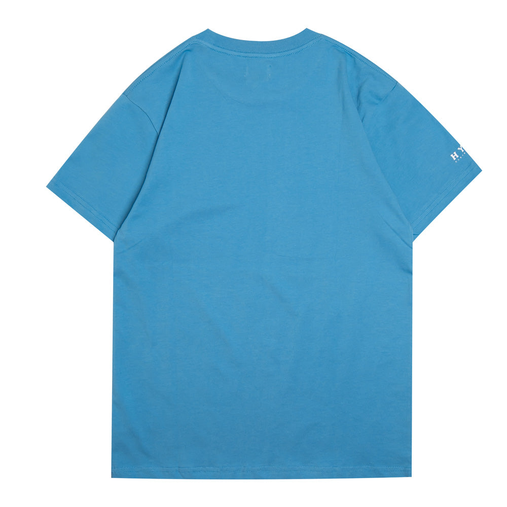Basic Short Sleeve Tee | Blue
