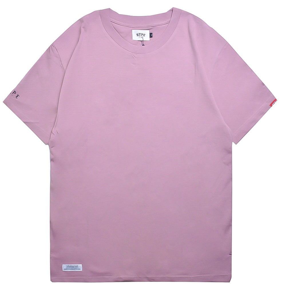 Basic Short Sleeve Tee | Dusty Pink