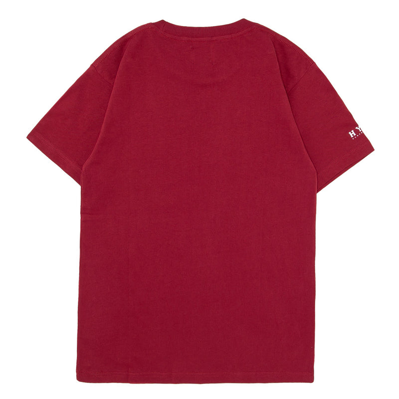 Basic Short Sleeve Tee | Maroon