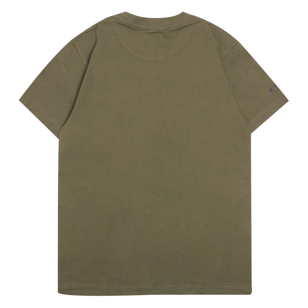 Basic Short Sleeve Tee | Olive
