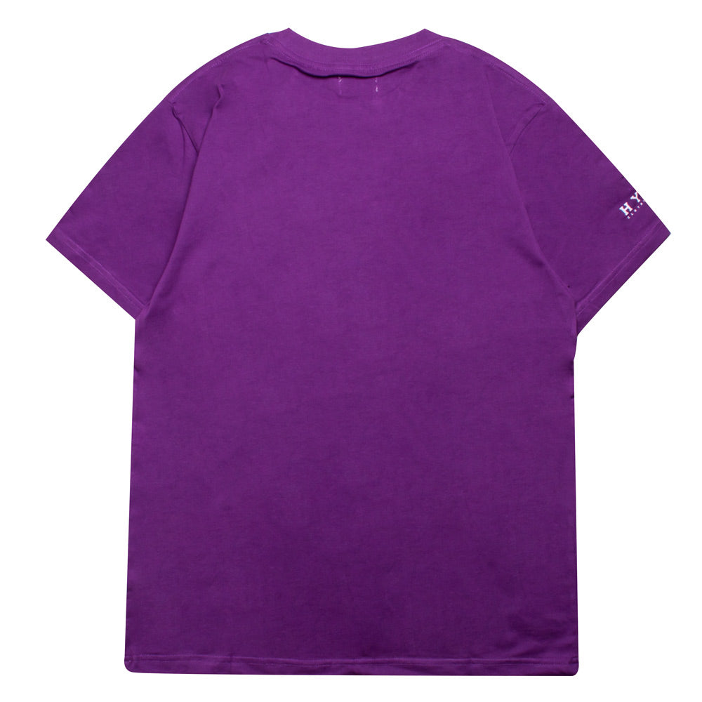 Basic Short Sleeve Tee | Purple