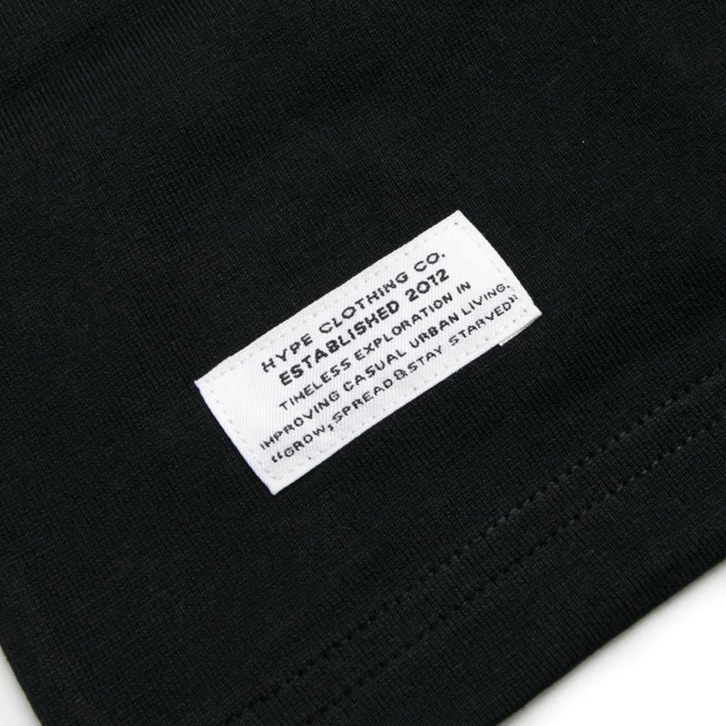 Capsule Adversity Short Sleeve Tee | Black