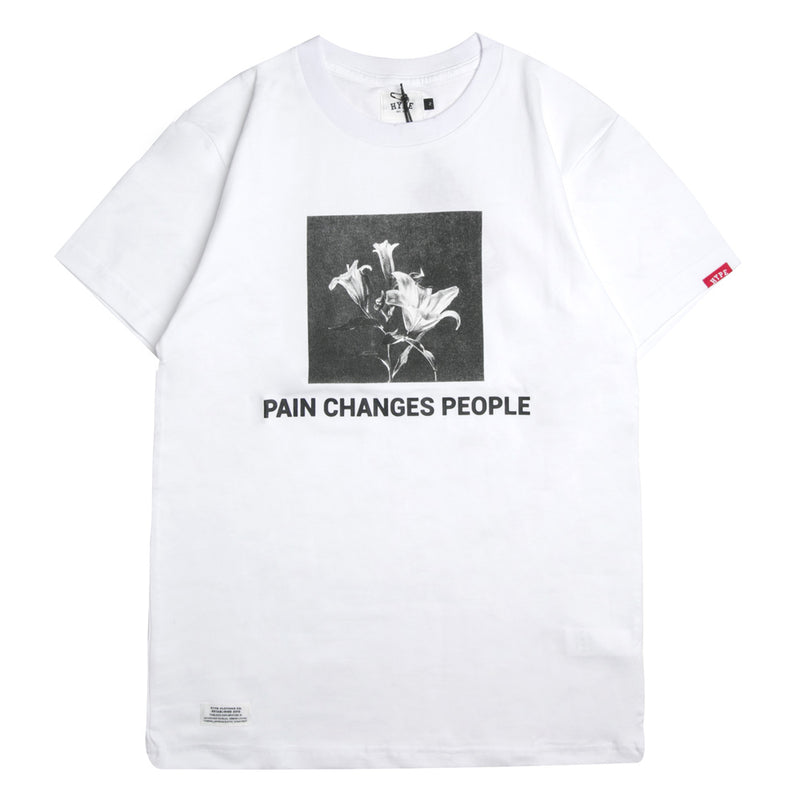 Capsule Anguish Short Sleeve Tee | White