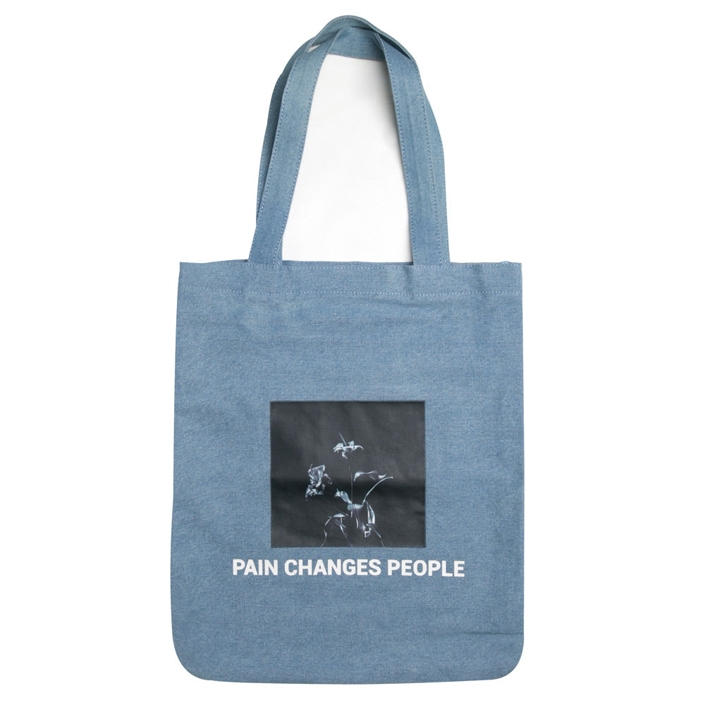 Capsule Anguish Tote Bag | Light Denim
