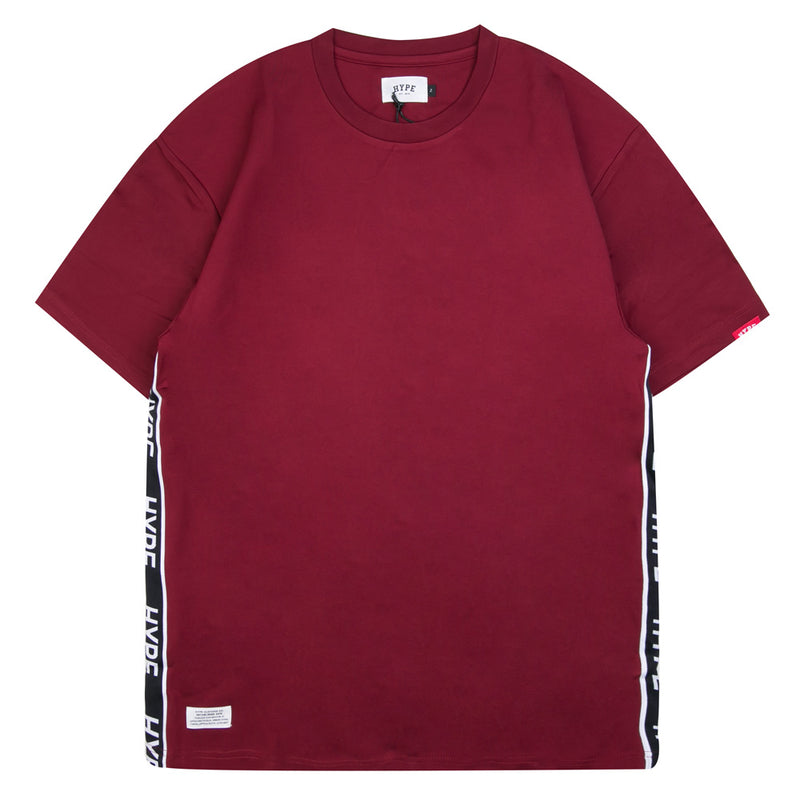 Capsule Authentic Sport Oversized Tee | Maroon