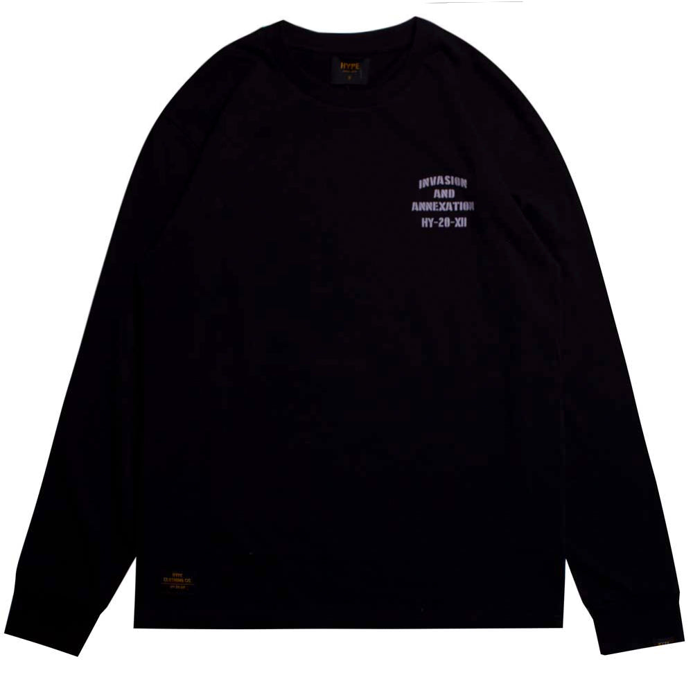 Capsule Battalion Long Sleeve Tee | Black
