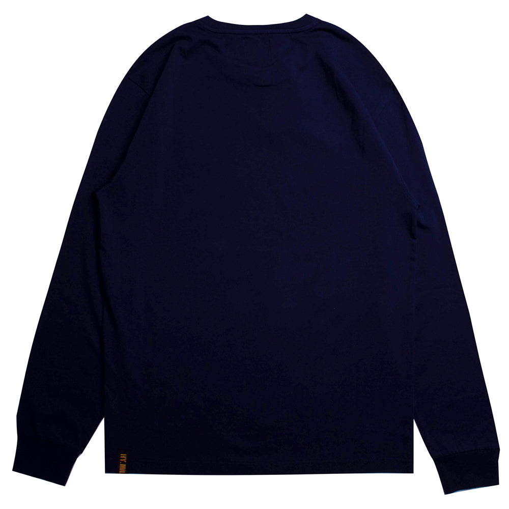 Capsule Battalion Long Sleeve Tee | Navy