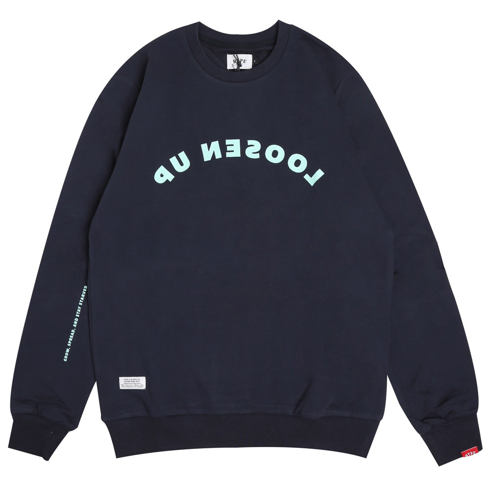 Capsule Cathey Crewneck Sweater | Navy