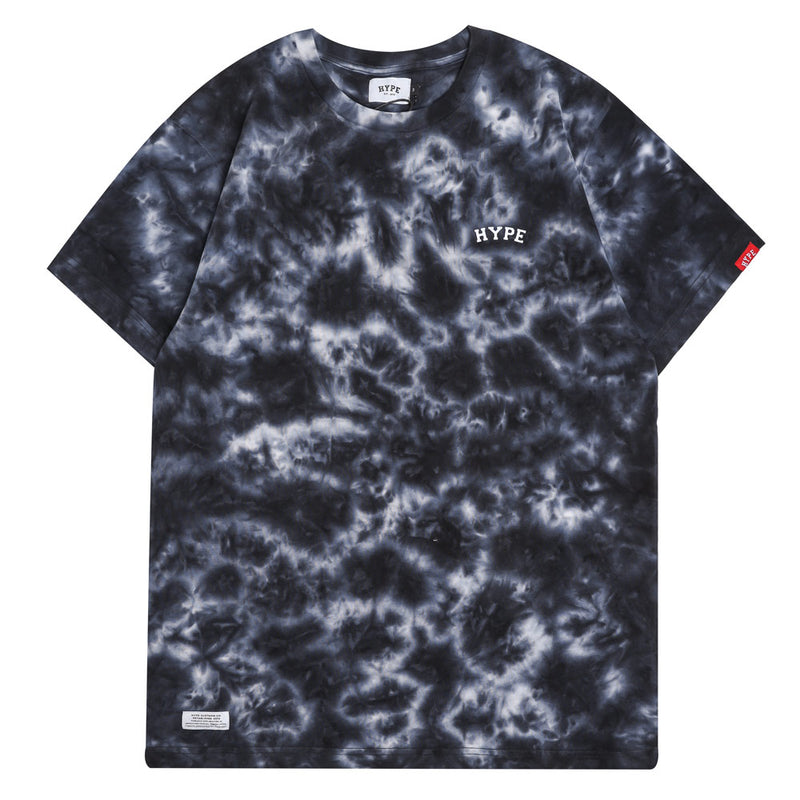 Capsule Chief Tie Dye Short Sleeve Tee | Black