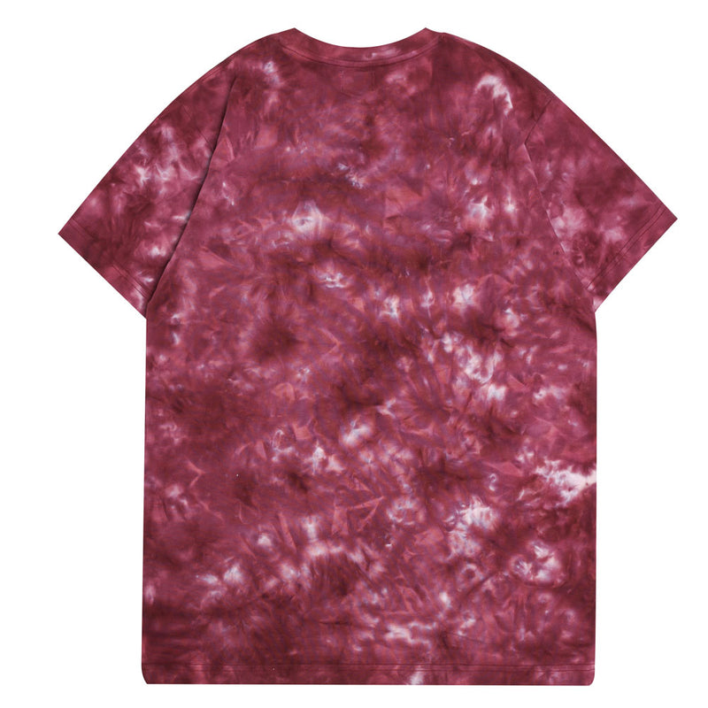 Capsule Chief Tie Dye Short Sleeve Tee | Maroon