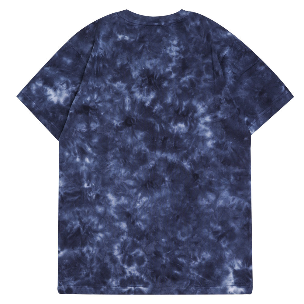 Capsule Chief Tie Dye Short Sleeve Tee | Navy