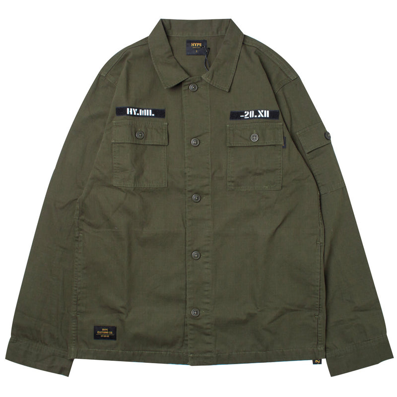 Capsule Command Long Sleeve Shirt | Olive