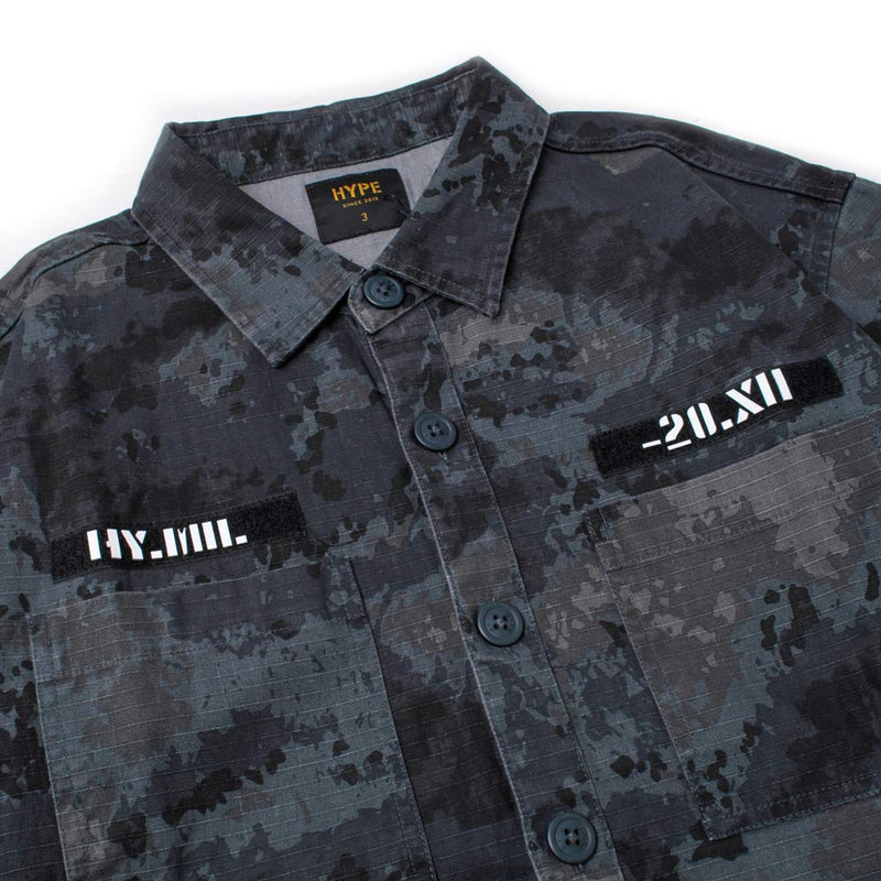 Capsule Command Short Sleeve Shirt | Camo