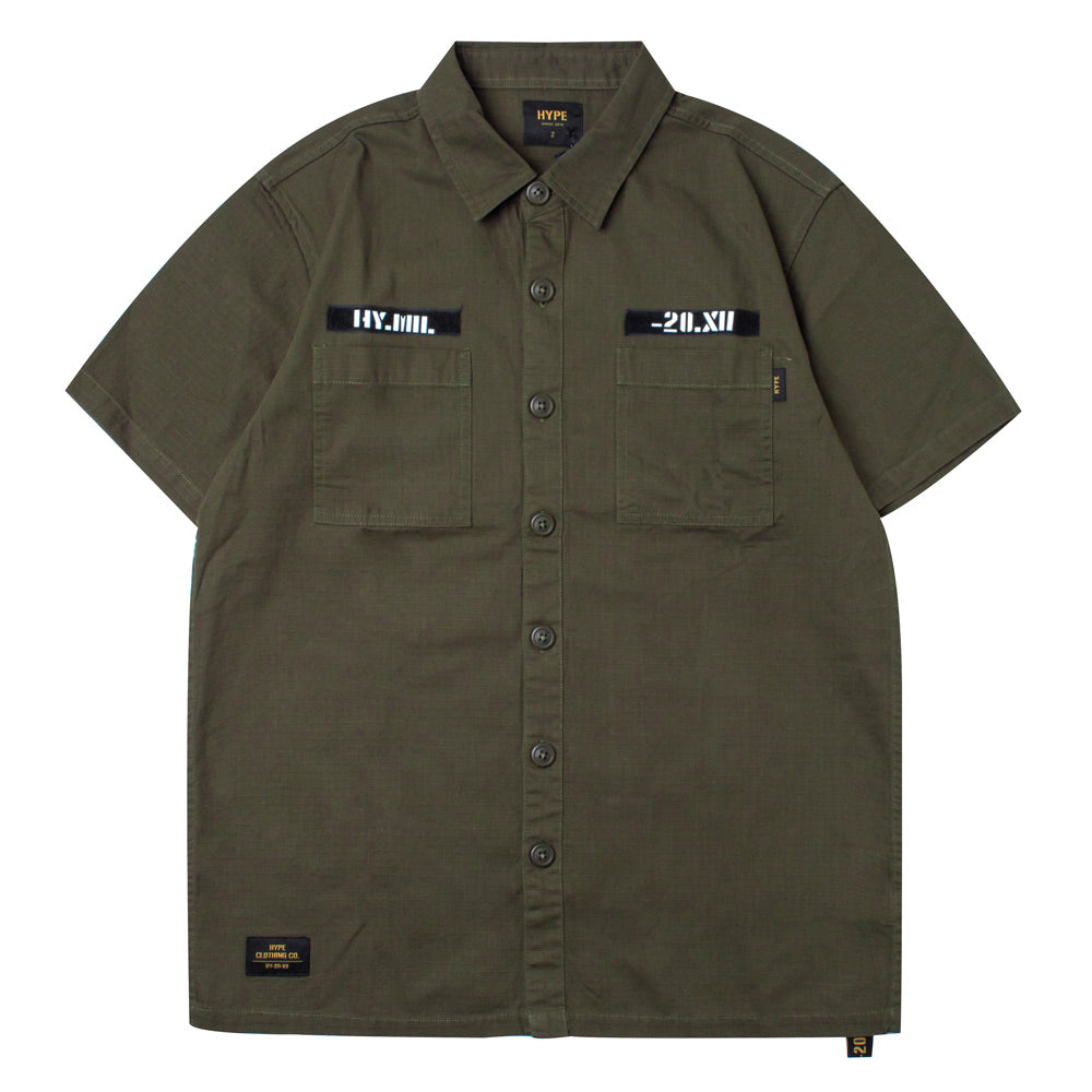 Capsule Command Short Sleeve Shirt | Olive