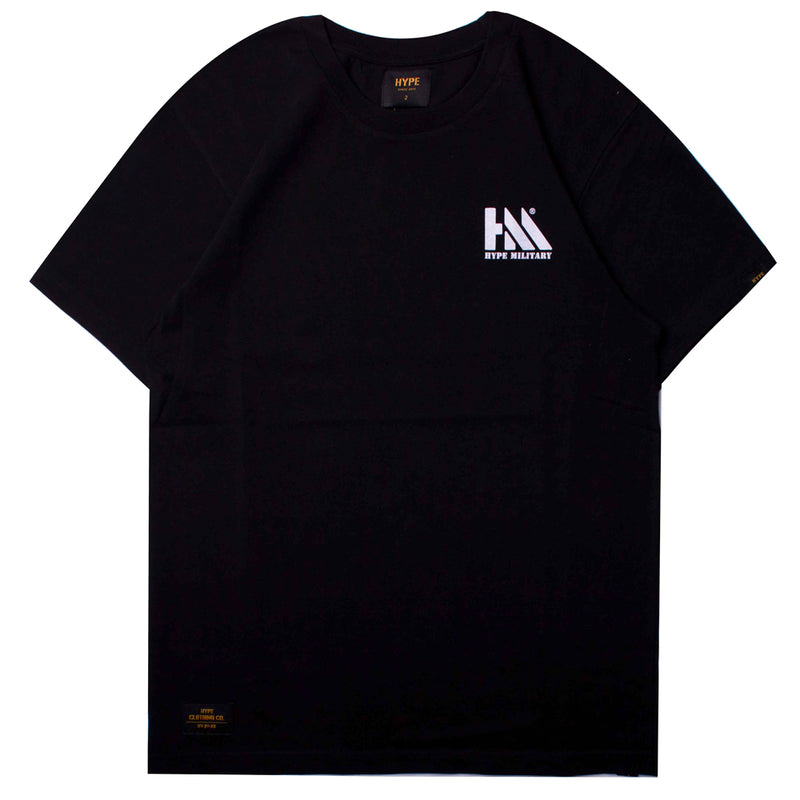 Capsule Conquer Short Sleeve Tee | Black