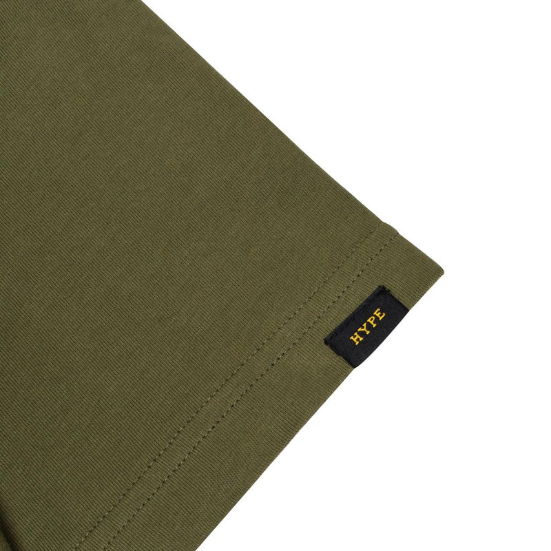 Capsule Conquer Short Sleeve Tee | Olive